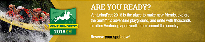 GET READY FOR THE ADVENTURE OF A LIFETIME AT VENTURINGFEST
