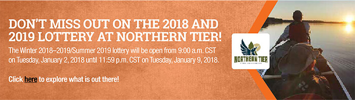 DON'T MISS OUT ON THE 2018/19 LOTTERY AT NORTHERN TIER -- STARTS JAN 2!